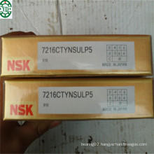 Single Row Angular Contact Ball Bearing NSK 7216ctynsulp5