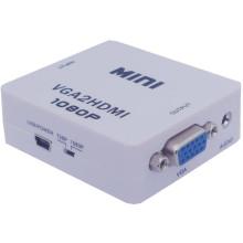 Conversor Mini VGA para HDMI Conversor Scaler VGA2HDMI