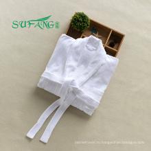 Отель постельное белье/белый цвет 100% хлопок отель халат ,махровый халат,полотенце, халат