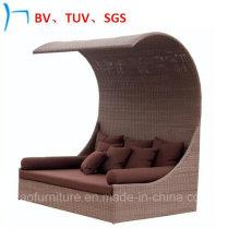 Outdoor Furniture Rattan/Wicker Furniture Leisure Sun Bed (S-3051)