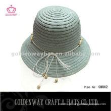 Chapéu de boliche de papel da moda coreana GW062