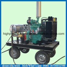 Máquina lavadora de alta pressão limpeza 500bar motor Diesel dinamitador da areia
