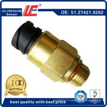 Capteur de pression d'huile pour camion auto Pression d'huile Capteur indicateur de transducteur 51.27421.0262 pour homme