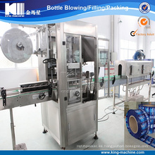 Máquina automática de encogimiento térmico de etiquetas de PVC