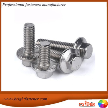 DIN6921 Hex Carbon Steel Flange Bolts