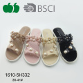Mode Design Summer Soft Women Pcu Slipper