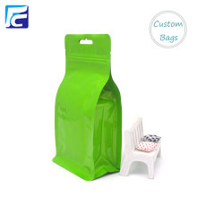 Flat Bottom Food Package Side Gusset Bag