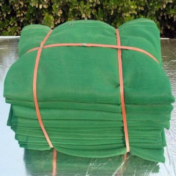 UV green scaffold safety net