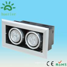 Le marché de la Chine de haute qualité a mené la grille projecteur 6w pour l'étape