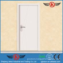 JK-P9063 JieKai new designs interior wood door / standard interior door dimensions / interior office door with glass window