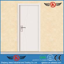 JK-P9063 JieKai новые конструкции внутренняя деревянная дверь / стандартные размеры внутренней двери / внутренняя офисная дверь со стеклянным окном