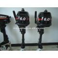 Groß-besten Preis chinesischen 5hp Außenbordmotoren Angeln Boot 2-Takt Bootsmotor / Motor HANGKAI