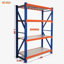 Almacenamiento industrial estante revestido de acero resistente