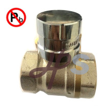 Low lead Brass Magnetic Lockable Valve with Key