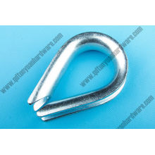 Rigging Hardware European Type Wire Rope Thimble