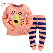 wholesale 2015 infant underwear suits baby clothes kid clothing sets with lions printed