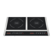 CE CB Approved double burners table top induction cooker Model SM20-DIC05