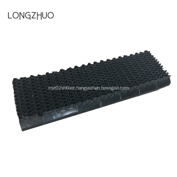 Water treatment cooling tower PVC drift eliminator