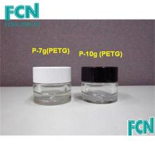 7г 10г черный или белый косметический уход за кожей крем бутылка пластиковая баночка контейнер