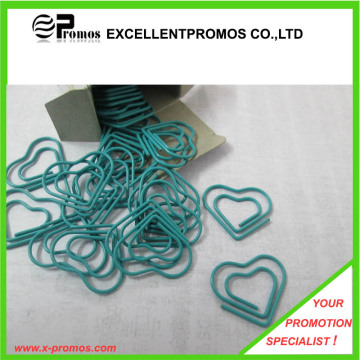 Promotional Colorful Heart Shaped Paper Clip (EP-C0905)