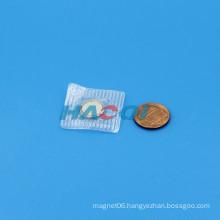 Neodymium PVC 1/2 button magnet