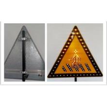 Señal de tráfico de material reflectante de aluminio
