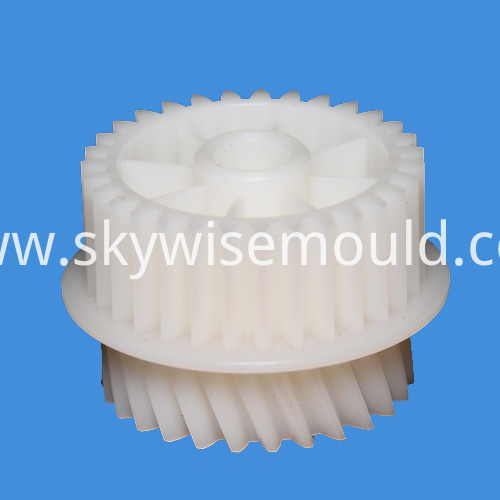Plastic Double Gear Injection Molding