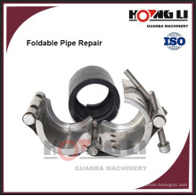 RCD stainless steel /galvanized steel pipe clamp
