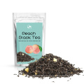 Bolsitas de té biodegradables Té de frutas Melocotón Té negro Té de sabor mezclado