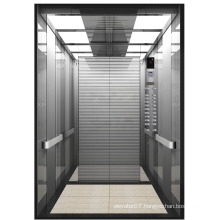 Good quality cargo elevator made by stainless steel plates