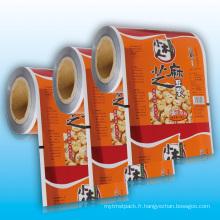 Film d'emballage en aluminium pour aliments