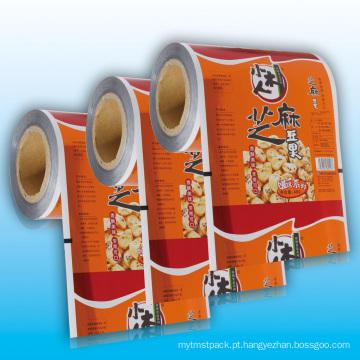 Filme de embalagem de folha de alumínio para alimentos