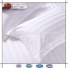 Fabriqué en usine en pure coton blanc en gros coussins d'hôtel en ligne