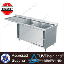 Guangdong Supplier Cheap Square Stainless Steel Cabinet With Sink