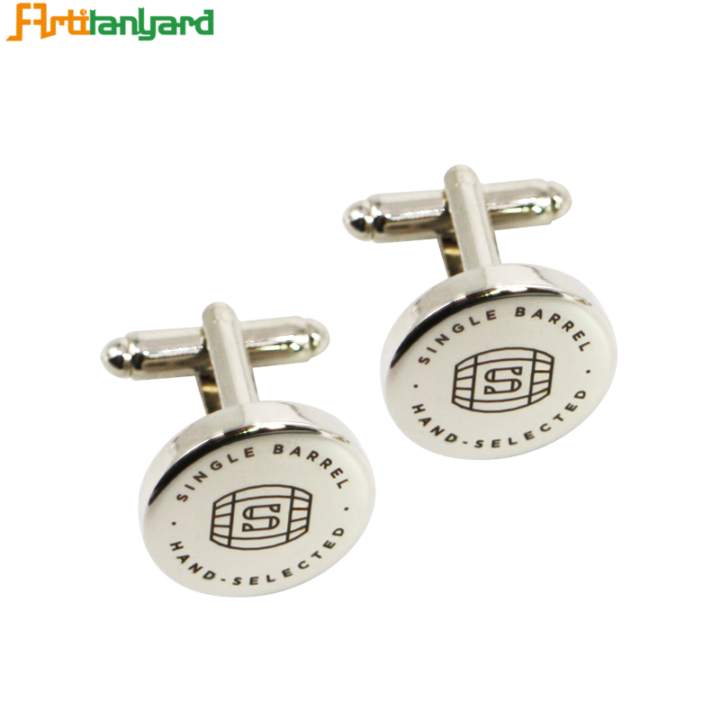 Nickel Cufflinks For Men With Synthetic