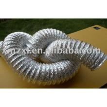 Duto de alumínio flexível liso