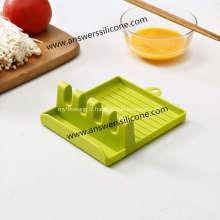 Support de cuillère en silicone pour ustensiles de cuisine pour cuisine