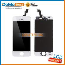 Caliente no venta de ninguna línea muerta, ningunos puntos de la pantalla táctil para el iphone 5s lcd