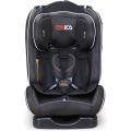 Baby-Autositz mit orange graue Abdeckung