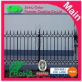 Electrostatic spray fence powder coating