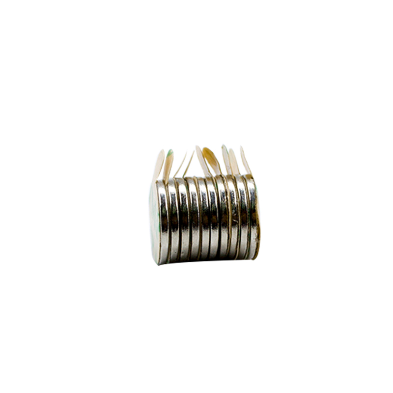 Round Magnet With Adhesive Tape 5