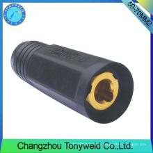 Tig serie soldadura antorcha 50-70mm2 soldadura hembra conector de cable