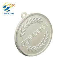 Medalla de Metal de encargo personalizada de aleación de zinc 3D de oro antiguo