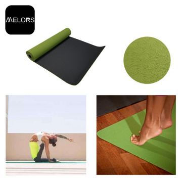 Коврик для фитнеса Melors High Density TPE Yoga Pad