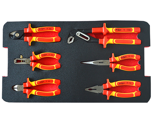 VDE 6pcs plier set
