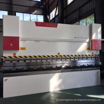 WC67Y Aluminiumbiegemaschine CNC-Metallbiegemaschine