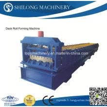 Machine de formage de rouleaux de plancher en métal fermé certifiée CE