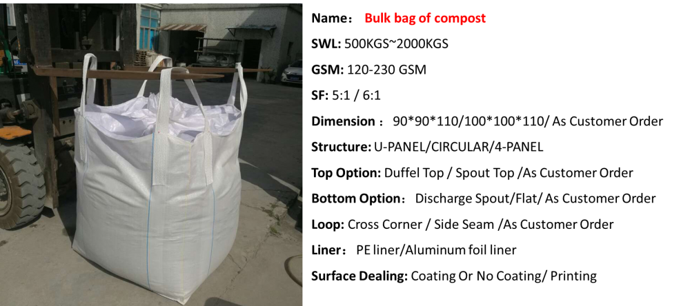Bulk Bag Of Compost