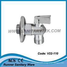 Chrome Plated Angle Ball Valve (V22-110)