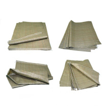 China Professional Factory High Quality Recycled 50kg Green Color PP Woven Lamination Cement Sand Bags
